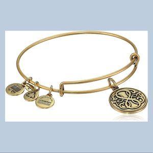 alex & ani infinity gold bangle